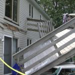 deck collapse by angus home inspector