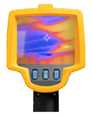 Thermal Imaging - Missing Insulation on Ceiling